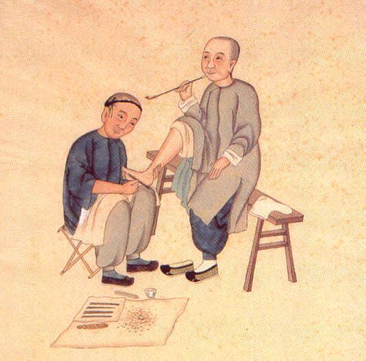 Tui Na (manipulation) ou An Mo (Massage)